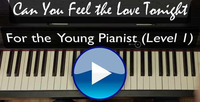 how to play can you feel the love tonight