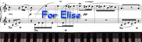 For Elise by Beethoven