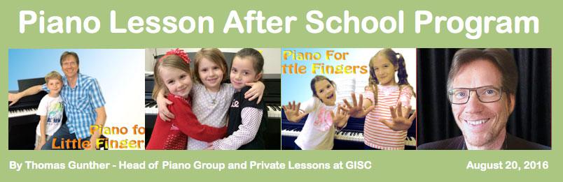 Piano at GISC